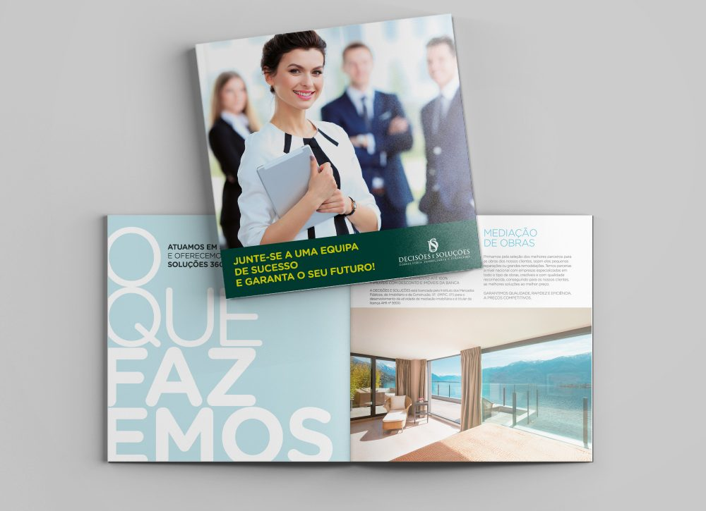 Decisões e Soluções - Brochura