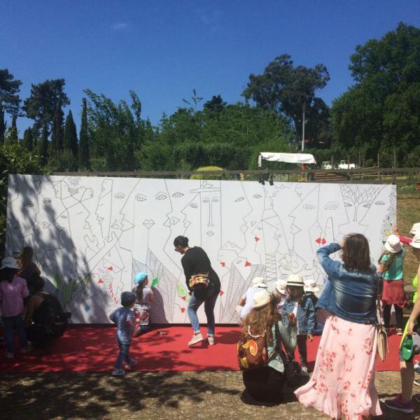 Mural Coletivo - Inês Peres e Teresa Fonseca