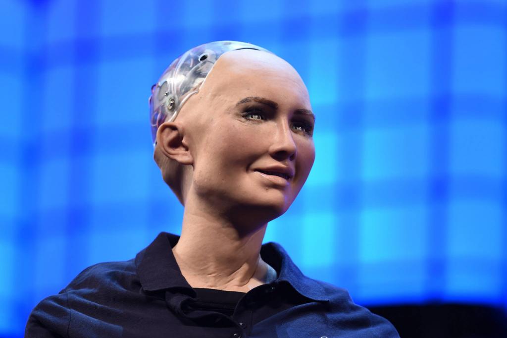 Sophia the Robot - @Web Summit