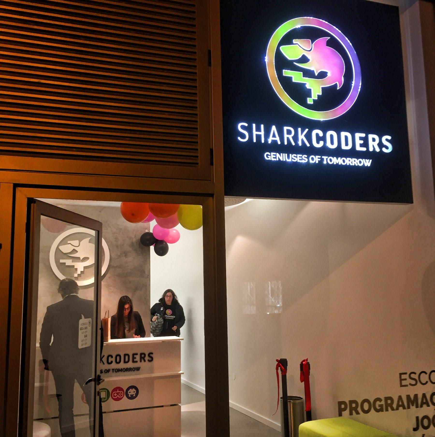 SHARKCODERS - Escola